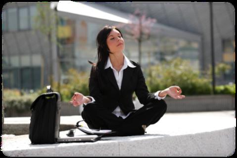 bus_woman_meditating_hazy