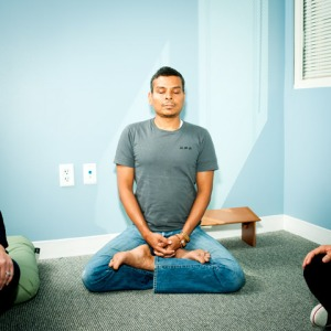 Facebook meditation room